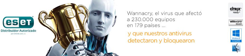 wannacry antivirus nod32